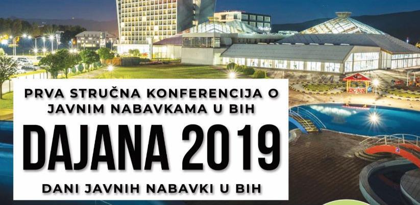 DAJANA 2019 - Prva stručna konferencija o javnim nabavkama u BiH