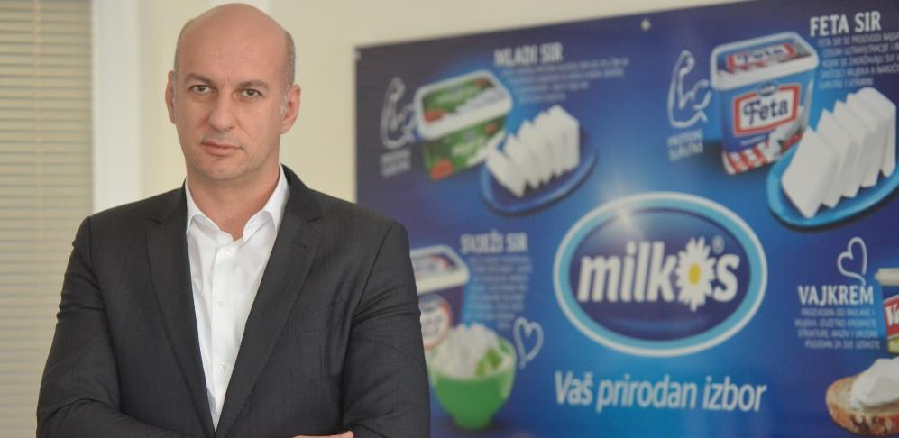 Milkos trenutno može osigurati potrebne količine mlijeka našem tržištu