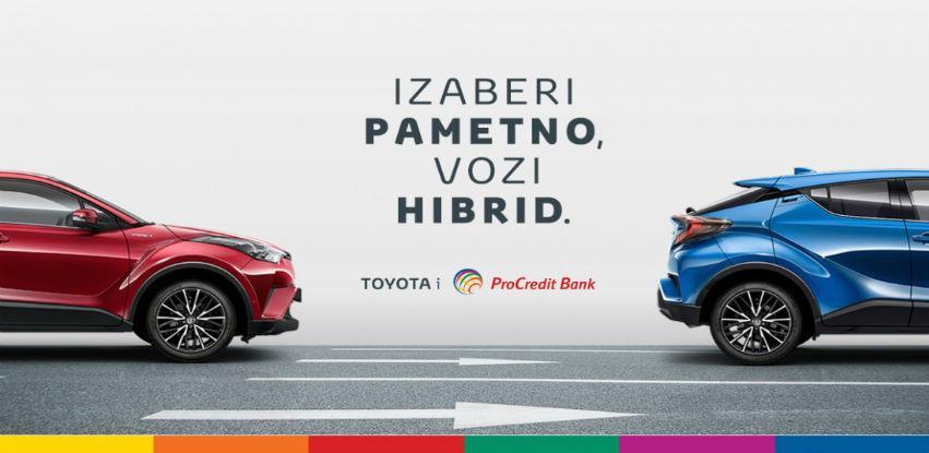 Ponuda za finansiranje Toyota hibrida uz investicijski kredit ProCredit Bank