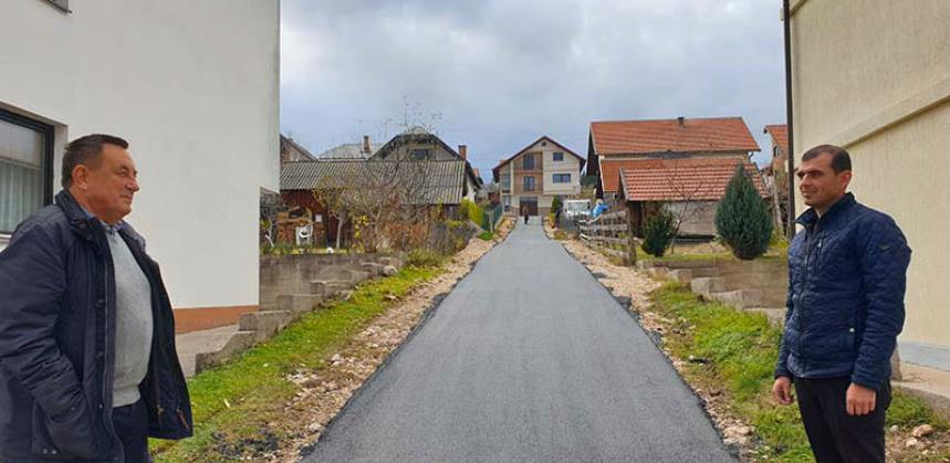 Uloženo oko 1,6 mil. KM za asfaltiranje i izgradnju puteva u Sokocu