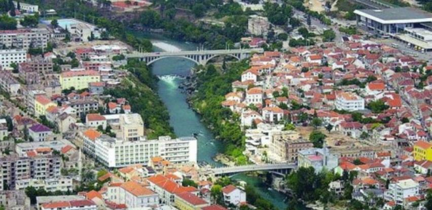 U Mostaru se gradi četverotračna prometnica u Ulici Ante Starčevića
