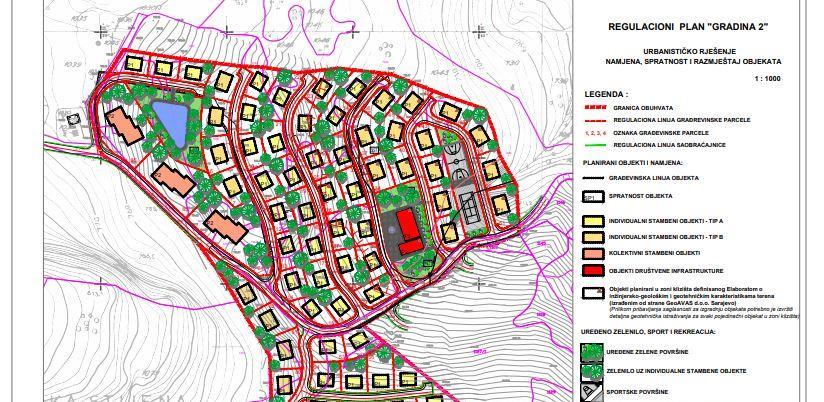 U Vogošći planirana izgradnja novog stambenog naselja sa sportskim sadržajima