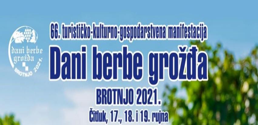 Dani berbe grožđa u Brotnju od 17. do 19. rujna