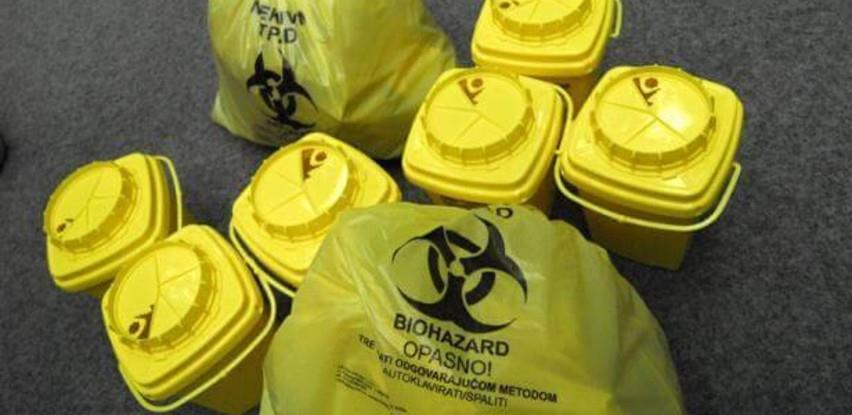 Odobren milion KM za zbrinjavanje medicinskog otpada u vrijeme pandemije