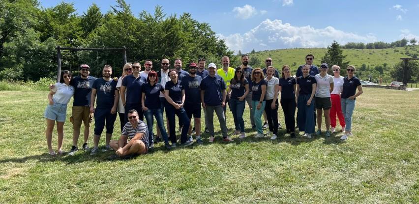 cargo-partner Sarajevo organizirao team building za svoje uposlenike