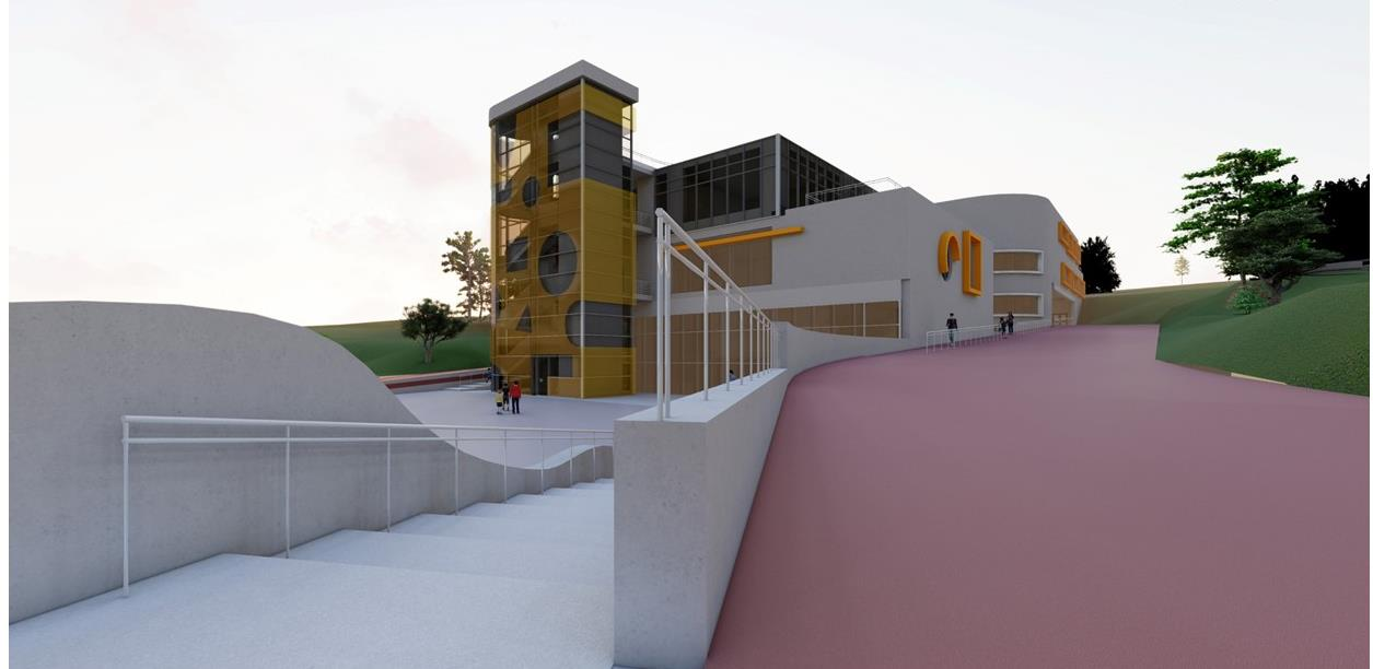 """Prezentiran idejni projekat izgradnje objekta Osnovne škole """"Pofalići"""""""