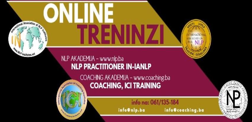 Online pohađanje NLP i Coaching edukacija