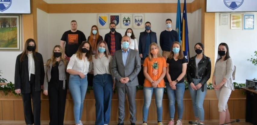 Prijem za 14 najboljih stipendista Općine Novo Sarajevo