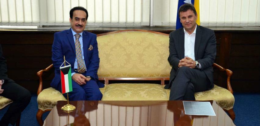 Ekonomsku saradnju BiH i Kuvajta dići na veći nivo