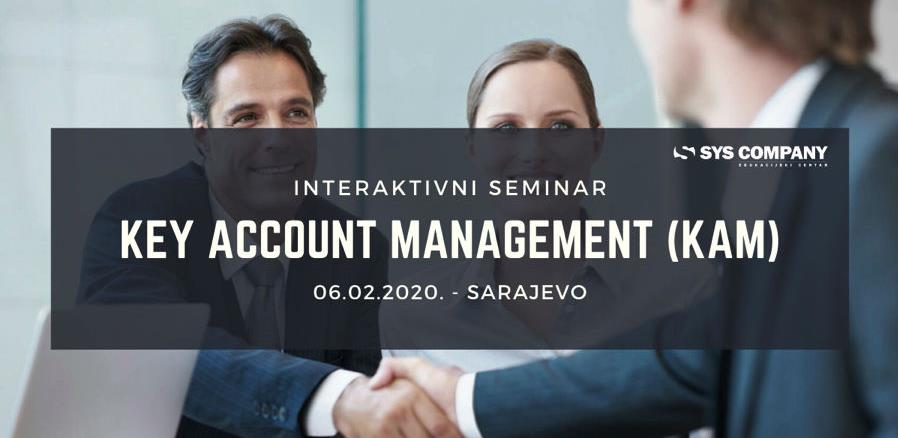 Key Account Management (KAM) – Upravljanje ključnim kupcima