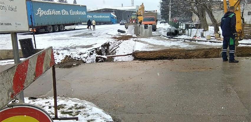 Počela gradnja kanalizacije na dionici regionalne ceste Semizovac-Ilijaš-Visoko