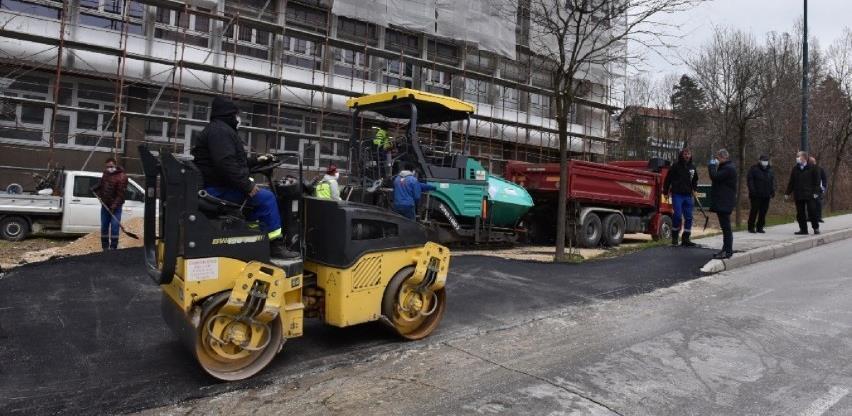 Bosman završava uređenje pristupnog puta izolatoriju na Građevinskom fakultetu