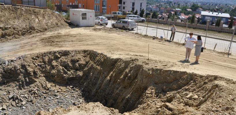 Unigradnja sprovodi aktivnosti na izgradnji objekta osnovne škole na Šipu