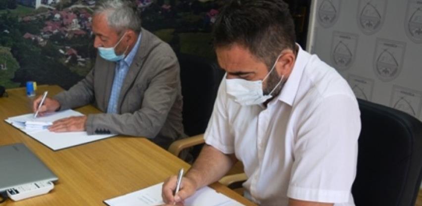 Potpisan ugovor o prvoj fazi radova na rekonstrukciji atletske staze u Vogošći