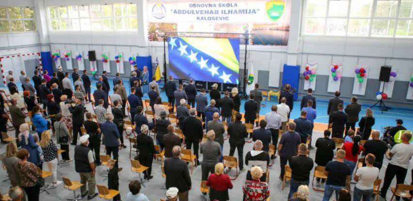 U Kaloševiću kod Tešnja otvorena školska sportska sala vrijedna 573.000 KM