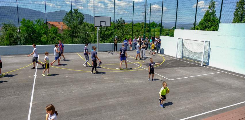 """Otvoreno prvo sportsko igralište u mjesnoj zajednici """"Švrakino Selo - II"""""""