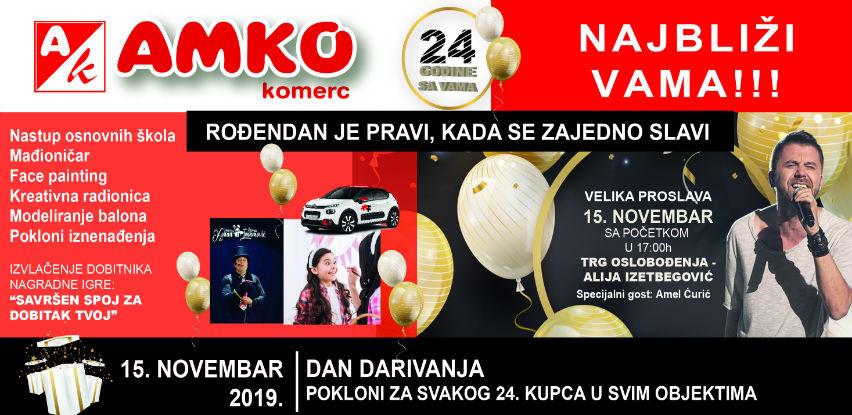 Svečana proslava 24 godine Amko komerc-a