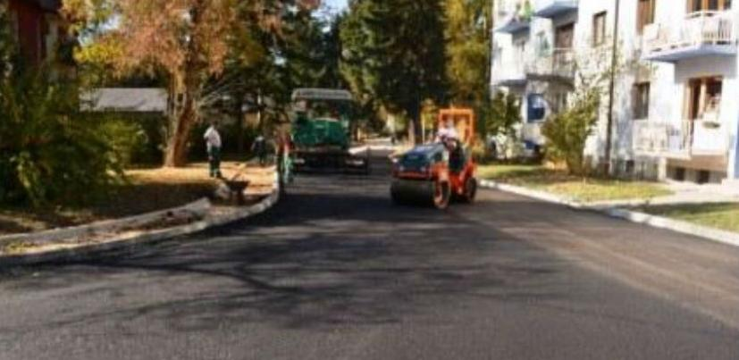 AME asfaltira ulicu u Vogošći