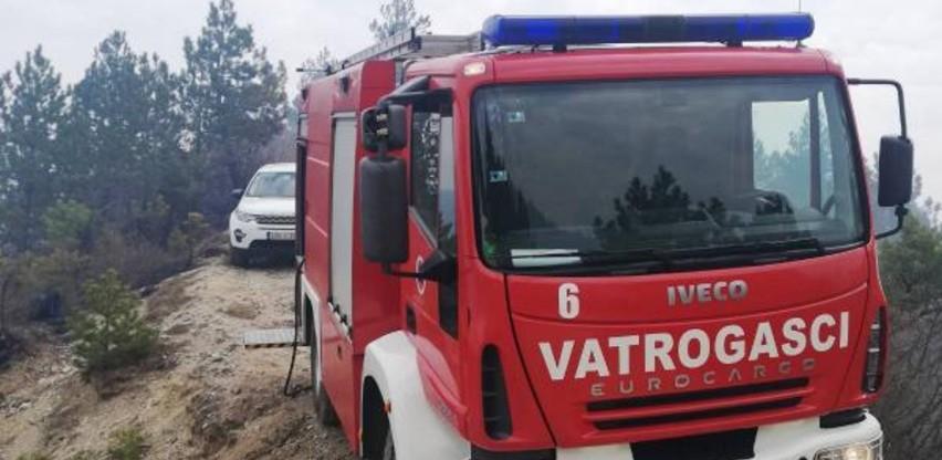 Vlada KS dala saglasnost za angažman 15 vatrogasaca i tri vozila na gašenju požara u općini Konjic