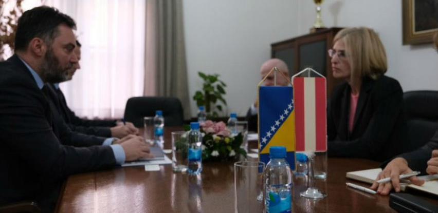 Košarac i Hartmann razgovarali o unapređenju saradnje BiH i Austrije