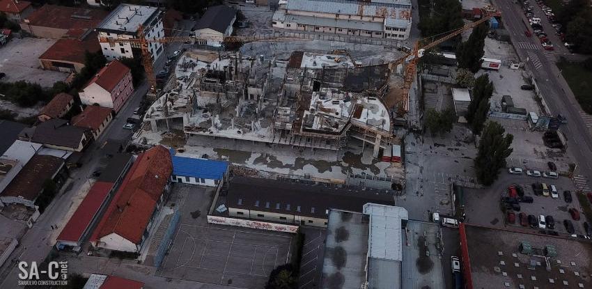 Pogledajte kako napreduju radovi na izgradnji objekta Sarajevo Tower