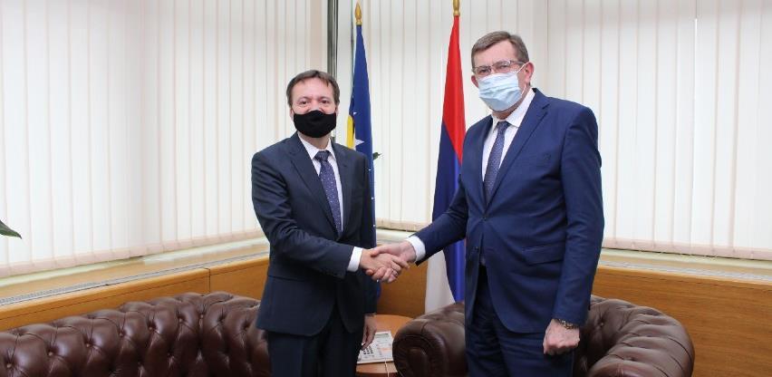 Mitrović i Pacurețu o mogućnosti novog sporazuma o cestovnom prijevozu