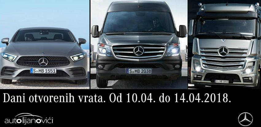 Za ljubitelje Mercedes-Benz vozila - Dani otvorenih vrata u Mostaru