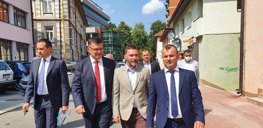 Donacija VM za Srebrenicu u vidu projektne hale i sanacije fasada