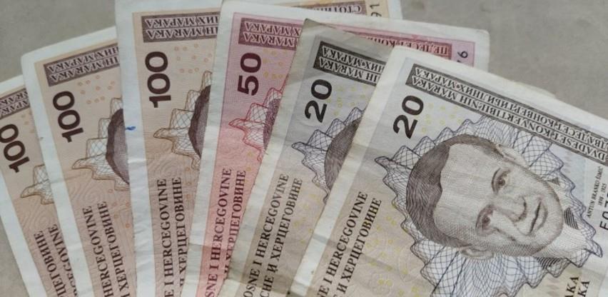 U BiH prosječna neto plaća u julu ove godine 965 KM, a bruto 1.492 KM