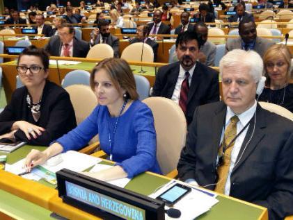 BiH izabrana u članstvo Ekonomskog i socijalnog vijeća UN-a
