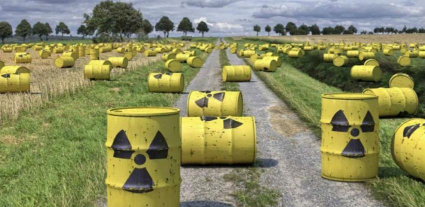 Nestaje prostora za radioaktivni otpad