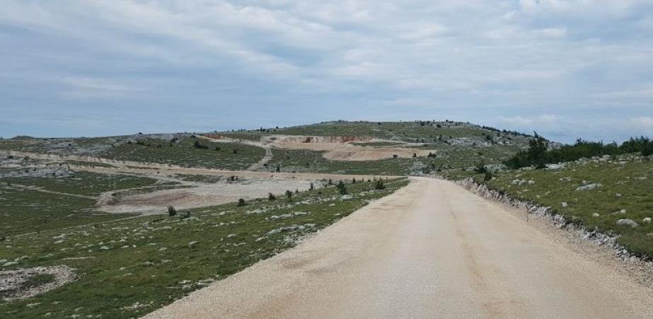 Uskoro početak radova za temelje vjetroagregata na platou Podveležja