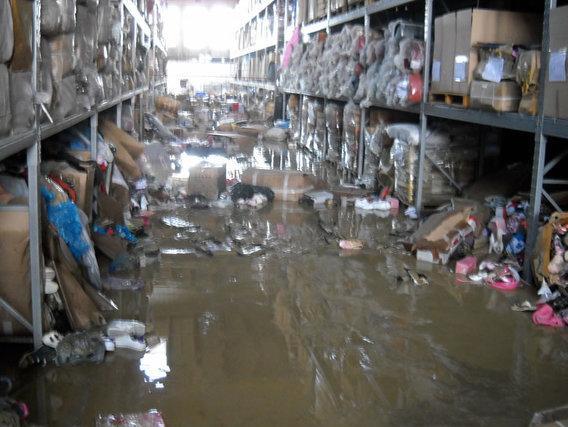 Poplave uništile i oduzetu robu u skladištu UIOBiH