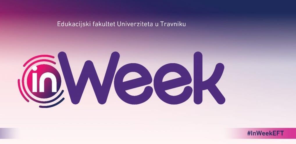 InWeek - sedmica stjecanja znanja i iskustava na novi način!