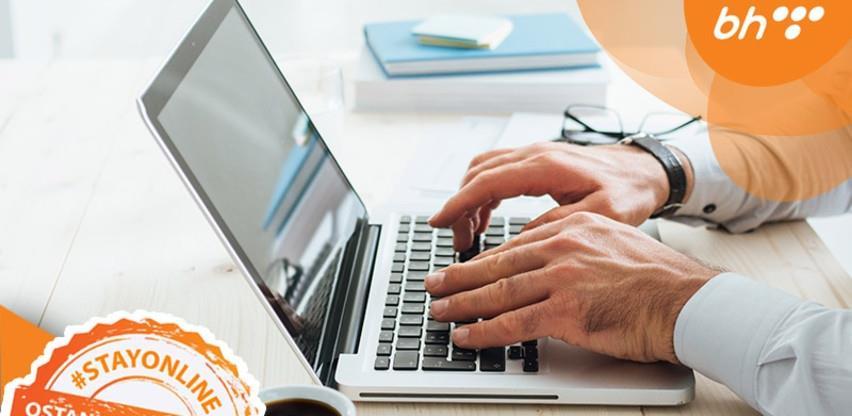 BH Telecom omogućio besplatno korištenje alata za organizaciju rada na daljinu