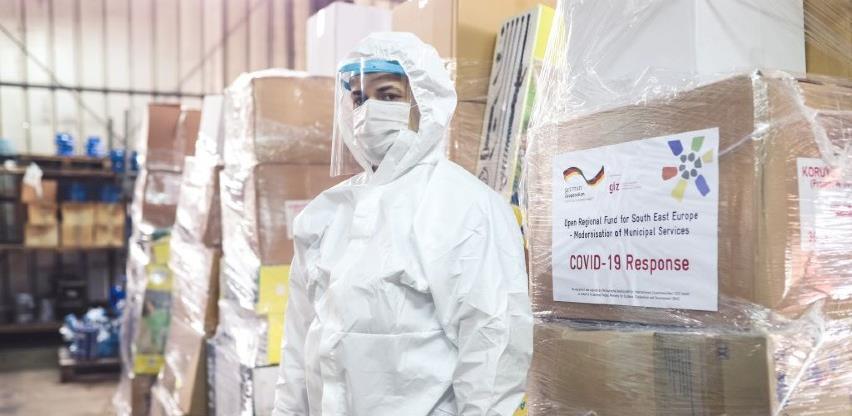 GIZ nastavio podršku javnim preduzećima u suzbijanju pandemije COVID19