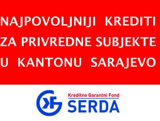 Najpovoljniji krediti za privrednike u Kantonu Sarajevo