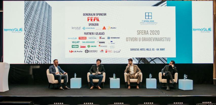 """Uspješno završena konferencija """"Sfera 2020: Otvori u građevinarstvu"""""""