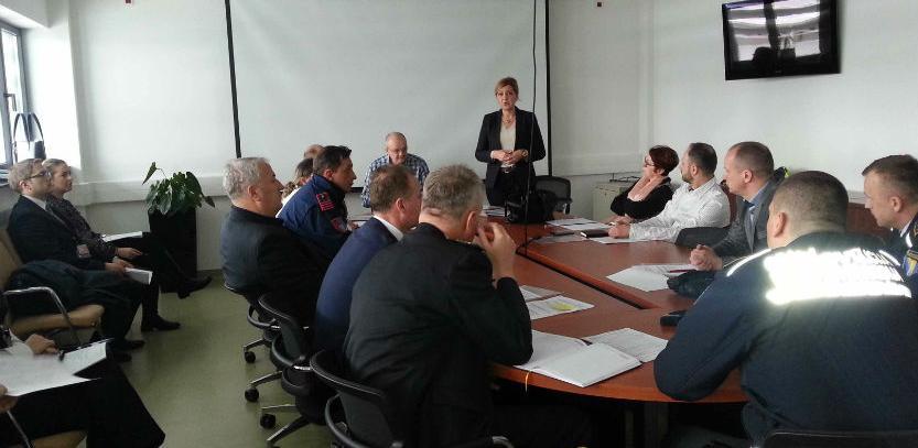 Na Međunarodnom aerodromu Sarajevo održan sastanak - Vježba za stolom