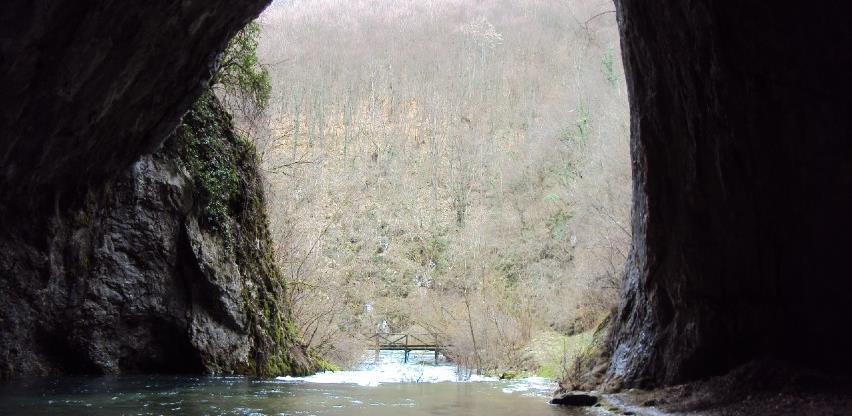 Nakon vodopada Blihe, uređenje prilaza Dabarskoj pećini