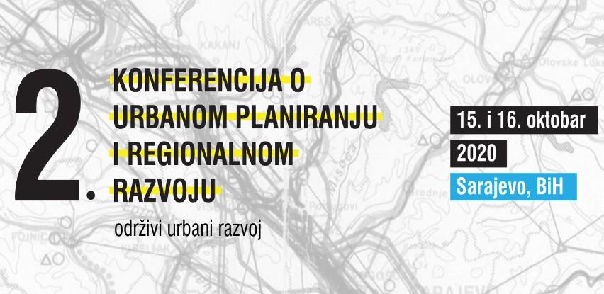 2. Konferencija o urbanom planiranju i regionalnom razvoju
