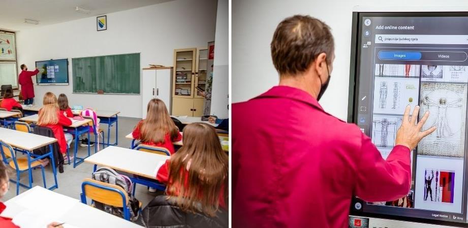Imtec i FCL u zajedničkom projektu: Pametne table za pametne školarce