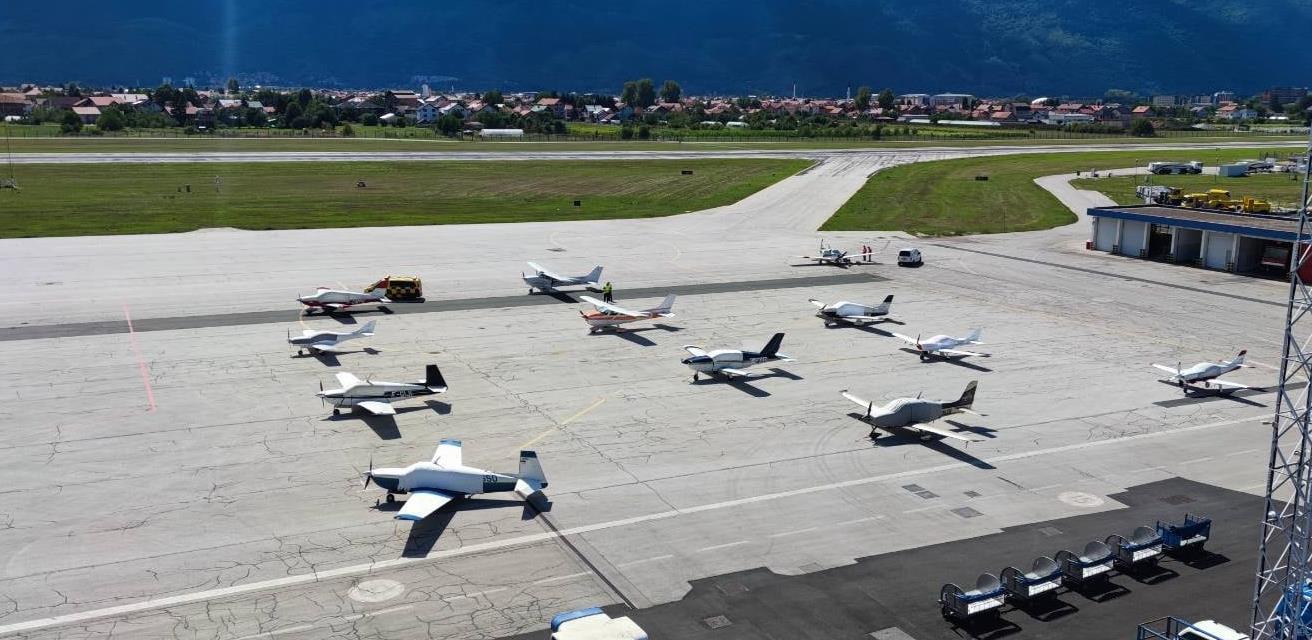 Rally Aero France prvi put na sarajevskom aerodromu