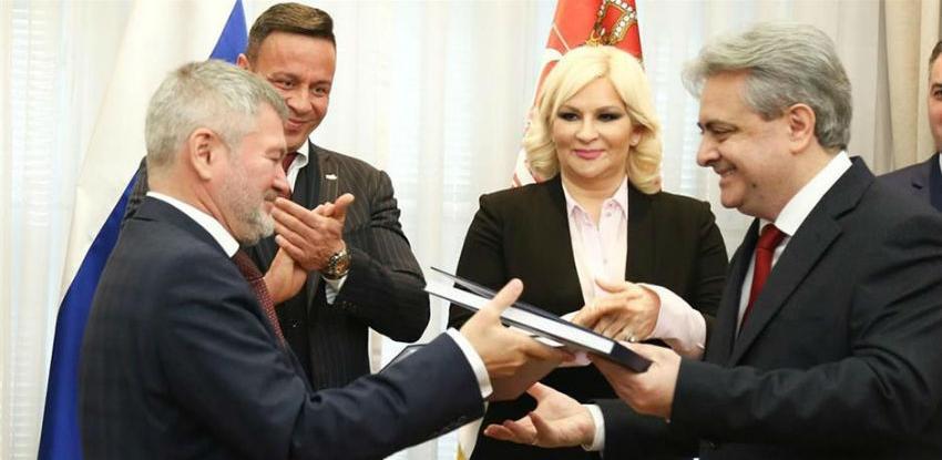Srbija sa Rusijom potpisala ugovor o željeznicama vrijedan 230 miliona eura