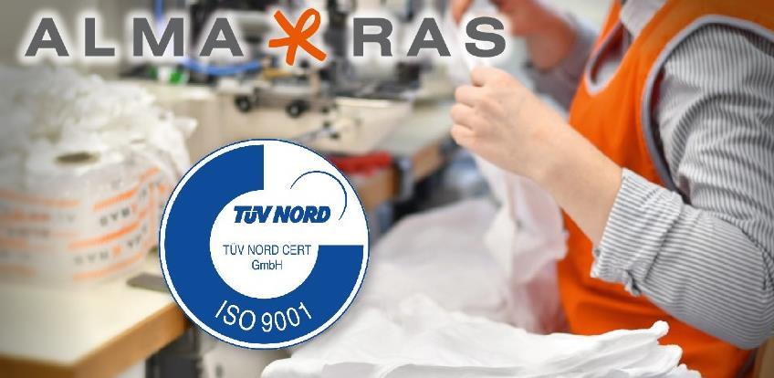 Alma Ras ide korak dalje: Poslovanje usklađeno s međunarodno priznatim normama