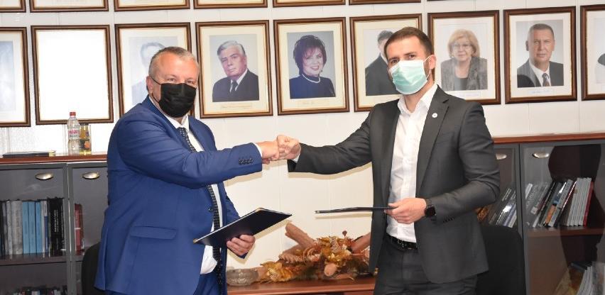 Ministar Delić potpisao sporazume s dekanom Smajlovićem za tri projekta