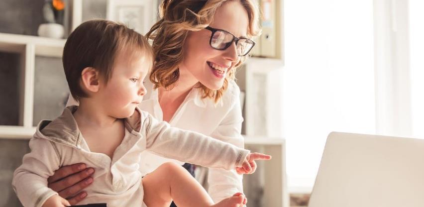 Šest trikova za mame koje rade od kuće