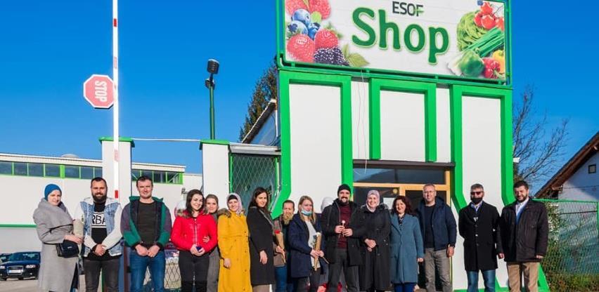 Kompanija ESOF proširila svoju djelatnost otvorivši svoju prvu cvjećaru