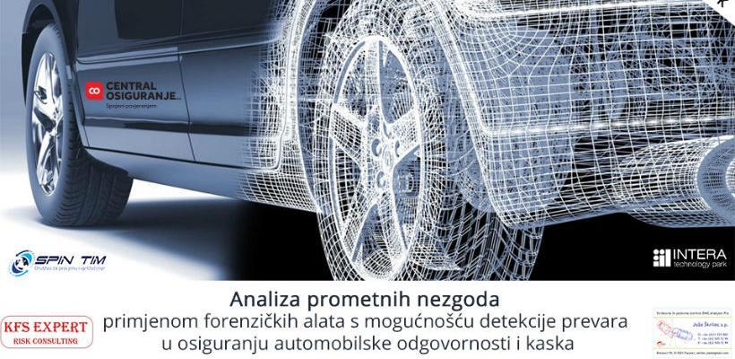 Intera edukacija: Analiza prometnih nezgoda primjenom forenzičkih alata