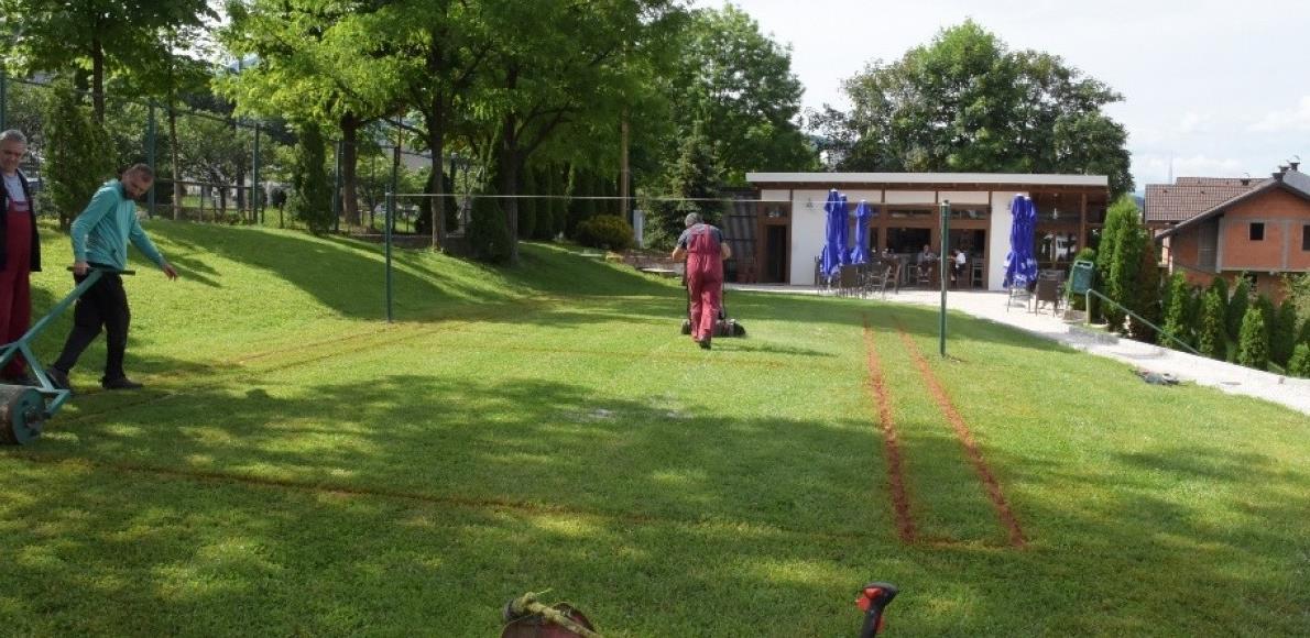 Uskoro badminton u kompleksu teniskih terena na Koševu